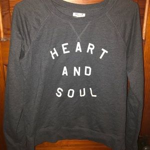 Heart And Soul Crewneck Sweater
